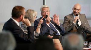 Bundespräsident Joachim Gauck bei it's OWL