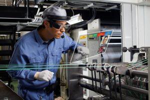 Smart-Brille für die digitale Arbeitsumgebung