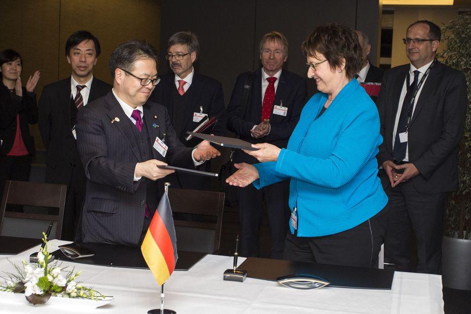 Deutschland und Japan festigen Partnerschaft