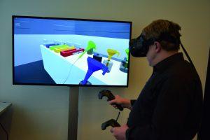 Mitarbeiter trainieren mit Virtual Reality