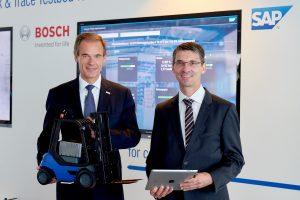 Industrie 4.0 und IoT: Bosch und SAP als Partner