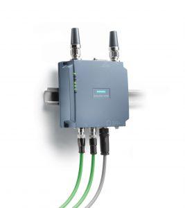 Flexibel einsetzbare, kompakte Access Points und Client Modules mit Schutzart IP65: Scalance W778 und W738 (Bild: Siemens AG)