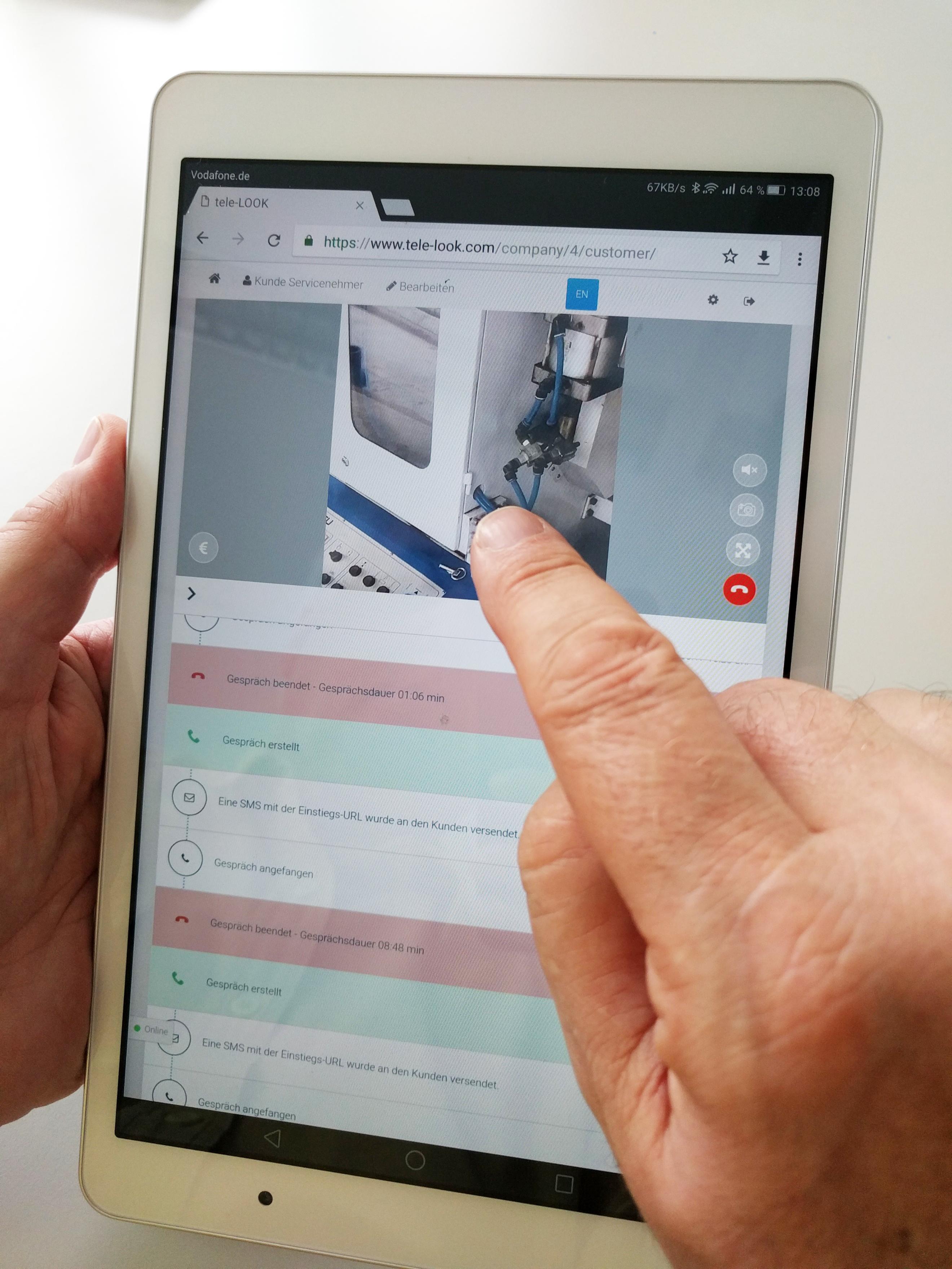 Digitales Ferndiagnose-Tool
