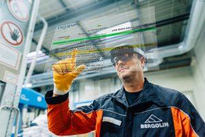 Microsoft HoloLens im industriellen Einsatz