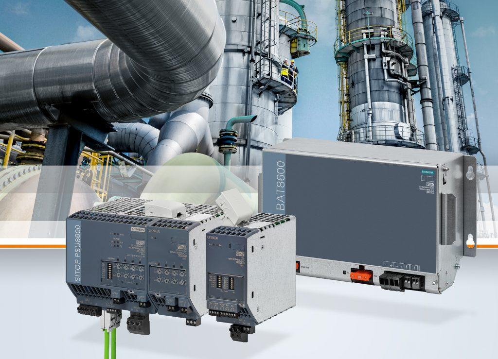 Mit neuen Zusatzmodulen erweitert Siemens sein Stromversorgungssystem Sitop PSU8600 zu einer unterbrechungsfreien Gleichstrom(DC)-Stromversorgung. (Bild: Siemens AG)