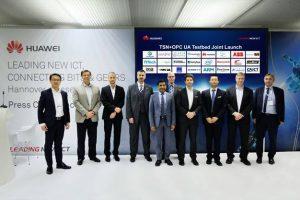 AII, Avnu Alliance, ECC, Fraunhofer FOKUS, Huawei, Schneider Electric und zahlreiche weitere Stakeholder kündigen gemeinsam das TSN + OPC UA Testbed für Smart Manufacturing an (Bild: Huawei Technologies)