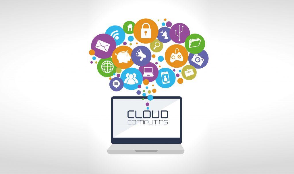 Technology design over white background,vector illustration (Bild: ©Gstudio Group-2/Fotolia.com)