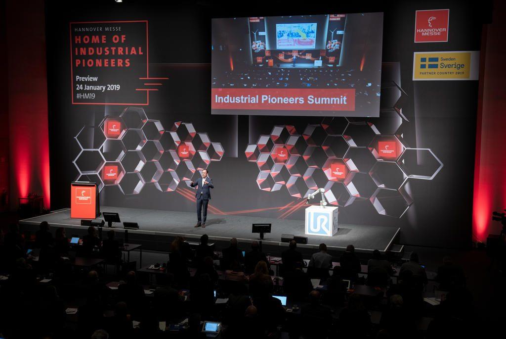 Im Rahmen der Hannover Messe 2019 findet erstmals der Industrial Pioneers Summit statt. (Bild: Deutsche Messe AG)